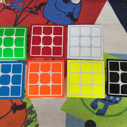 Stickers 3x3 Weilong GTS vinil half bright