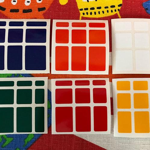 Stickers Mirror vinil colores estándar