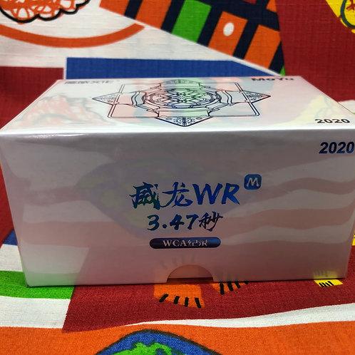 3x3 Moyu Weilong WR 2020 magnético stickerless