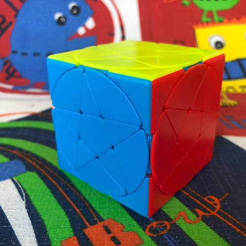 Pentacle cube stickerless colored