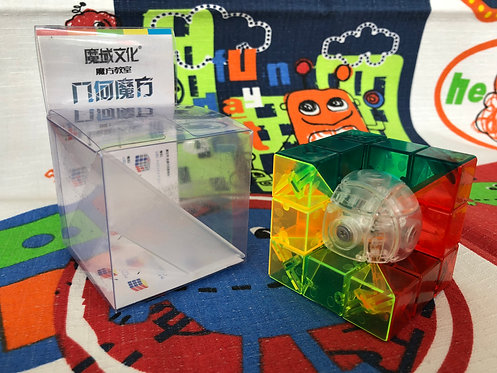 Moyu 3x3 Geo Cube C stickerless transparente