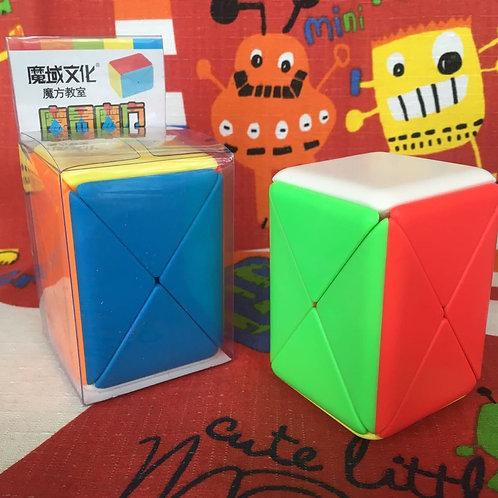 Moyu MoFangJiaoShi Skewb box container cube stickerless colored