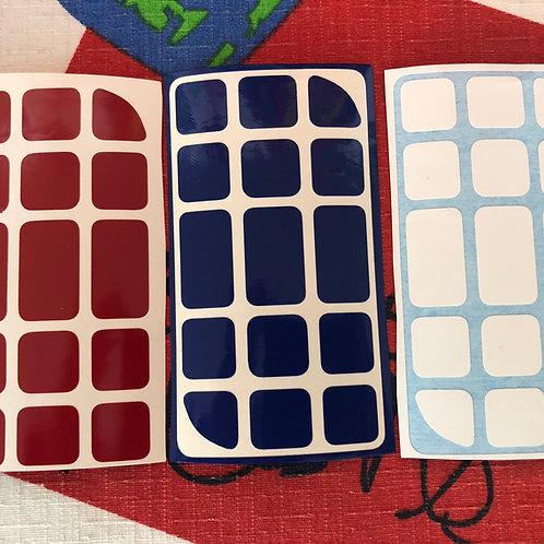 Stickers Penrose 3x3 vinil estándar