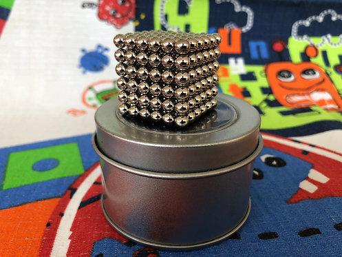 Neo Cube 5mm plata (esferas)