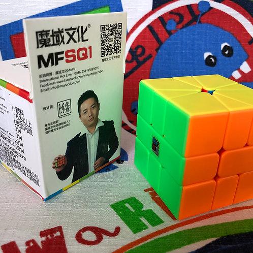 Moyu MoFangJiaoShi Square 1 stickerless colored