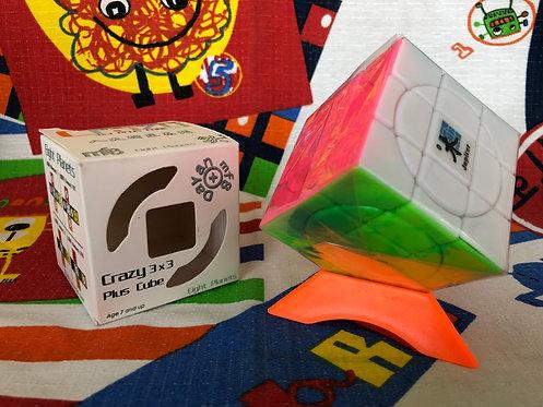 Dayan Crazy 3x3x3 plus Jupiter stickerless candy colors