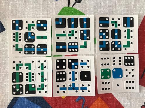 """Stickers 3x3 """"42"""" vinil"""