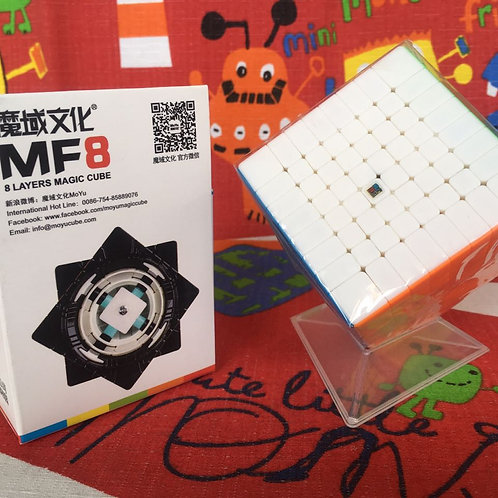 8x8 Moyu MF8 stickerless colored
