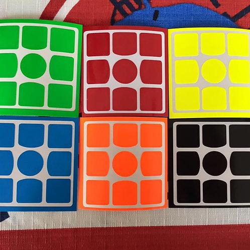 Stickers 3x3 Gans 3 56/57 vinil half bright