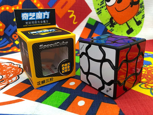 3x3 QiYi Fluffy base negra
