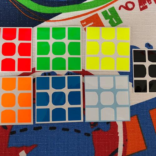 Stickers Z 3x3 Valk Full Fitted vinil Z bright