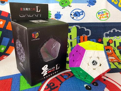 QiYi Galaxy Megaminx v2 L sculpture stickerless