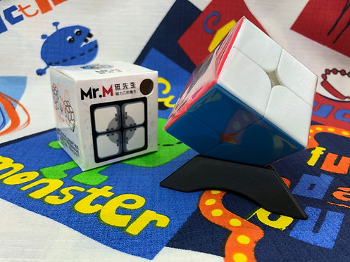 2x2 Shengshou Mr M magnético stickerless colored