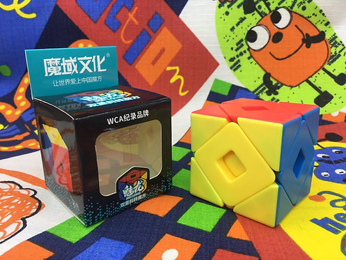 Moyu Double skewb stickerless