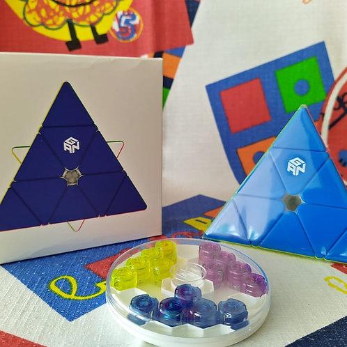 GAN Pyraminx Enhanced GES magnética stickerless