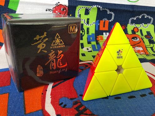 Yuxin Pyraminx Huanglong magnética stickerless