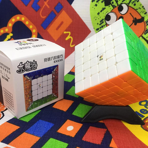 6x6 Yuxin Little Magic magnético stickerless colored