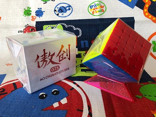 5x5 Moyu AoChuang GTS stickerless colored