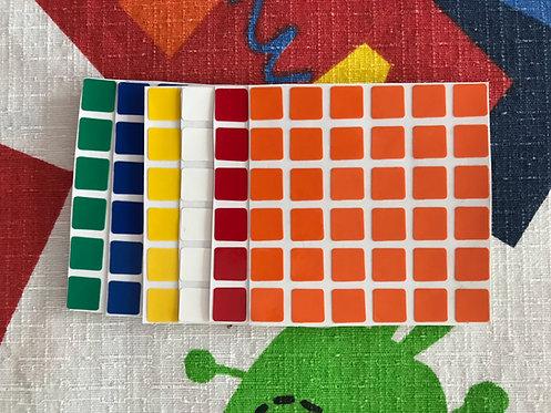 Stickers 6x6 Shengshou vinil colores estándar
