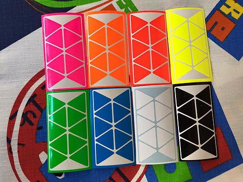 Stickers Pyraminx vinil full bright