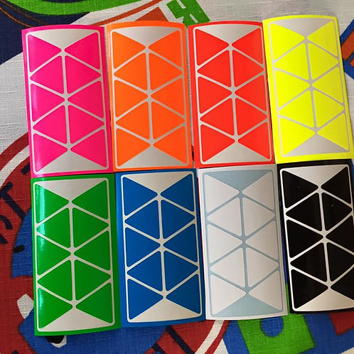 Stickers Pyraminx vinil full bright