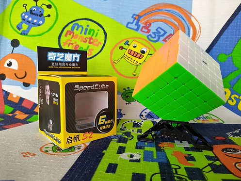 6x6 QiYi QiFan v2 stickerless colored