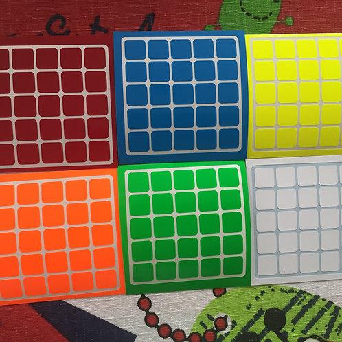 Stickers 5x5 Shengshou vinil half bright