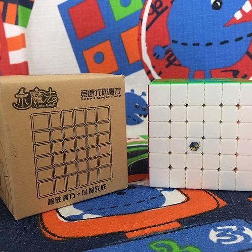 6x6 Yuxin Little Magic stickerless colored