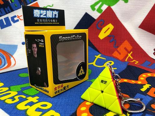 QiYiLlavero pyraminx stickerless