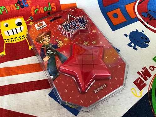YJ Estrella 3x3 roja con empaque