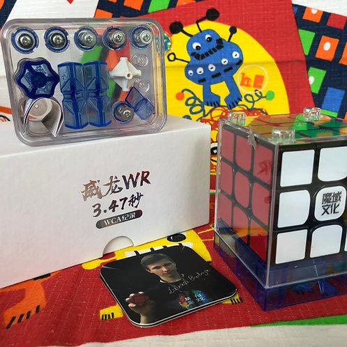 3x3 Moyu WeiLong WR base negra