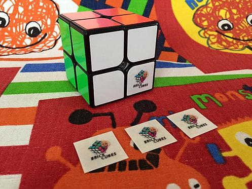 Logo 2x2 Brick Cubes
