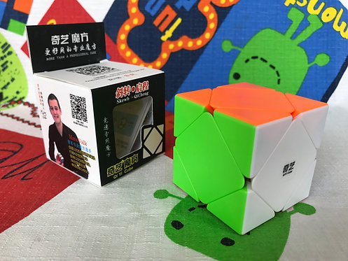 QiYi Skewb QiCheng stickerless colored