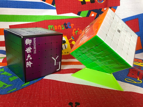 6x6 YJ Yushi v2 magnético stickerless colored