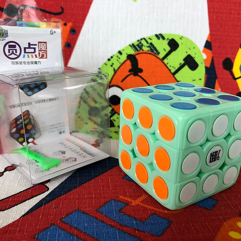 3x3 KungFu Dot YuanDian base verde