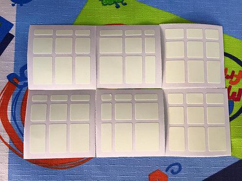 Stickers Mirror Vinil Fluorescente