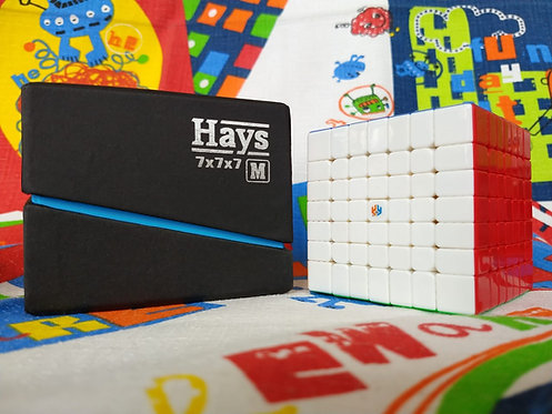 7x7 Yuxin Hays magnético stickerless colored