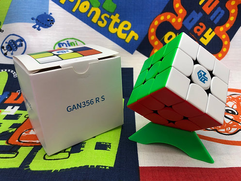 3x3x3 Gan 356 R S stickerless colored