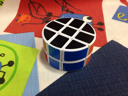 LanLan 3x3x2 barrel cilíndrico base blanca
