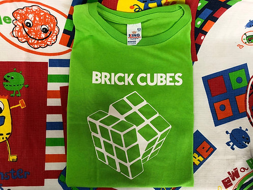 Playera Brick Cubes verde