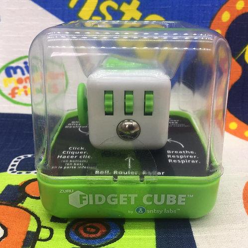 Antsy Labs Fidget cube blanco verde