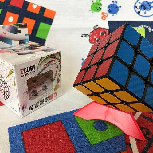 3x3 Z base negra stickers fibra de carbono colores clásicos