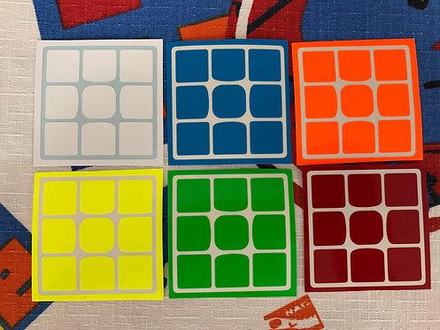 Stickers Weilong GTS v2 3x3 half bright