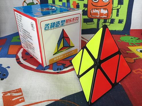 ShengShou pyraminx 2x2 base negra