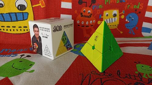 Yuxin Pyraminx Little Magic M magnética stickerless