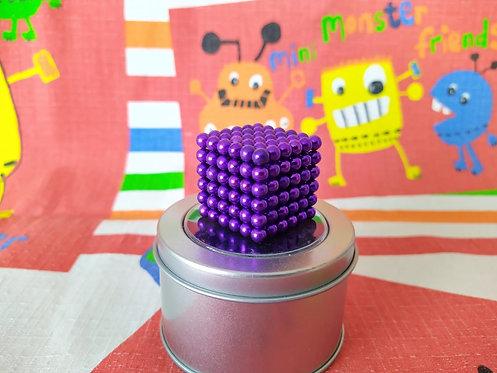 Neo Cube 5mm morado 216 piezas