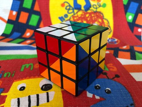 3x3 ShengShou Sujie colores triángulos base negra