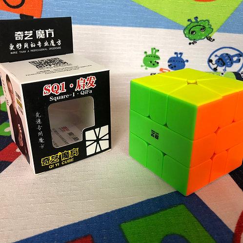 QiYi QiFa Square 1 stickerless colored