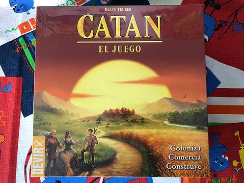 Catán Base - El Juego