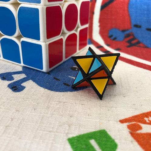 1x1 Icosaedro base negra